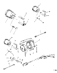 harness assembly tachometer 5 00 feet 84 86396a8 < mercury 3 4 litre tachometer trim gauge and alarm horn