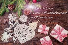 White Christmas Dieses Jahr Gibt Es Bei Haekelncom Weiße