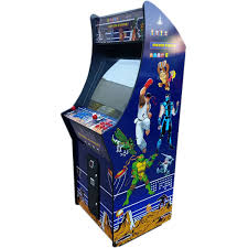 classic upright arcade game