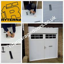 ryterna 40mm insulated side swinging doors with a letter box