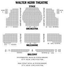 Organized Walter Kerr Theatre Seating Springsteen On