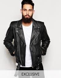 reclaimed vintage leather biker jacket reclaimed vintage leather biker jacket