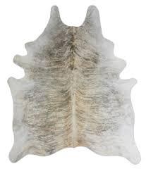light brindle cowhide rug