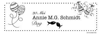 Annie Mg Schmidt Dag 20 Mei Annie Mg Schmidt 20 Mei