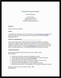 service dispatcher resume How To Make Your Resume Pop