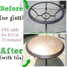outdoor glass table top replacement tile patio table top replacement remarkable makeover an outdoor and outdoor