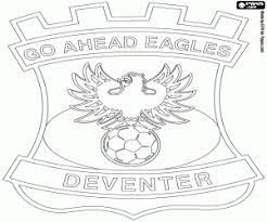 Kleurplaat Voetbal Logo Ado Den Haag Leuk Voor Kids Logo Ado Den