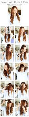 Easy Loose Curls Hair Tutorial | www.LittleJStyle.com #hair ...