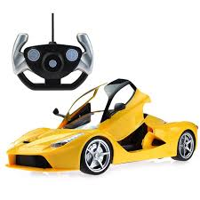 1 14 ferrari laferrari rc remote door open remote control super car toy red 11street msia remote control toys