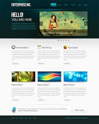 Photoshop Website Templates Interesting How To Create A Professional Web Layout In Photoshop Photoshop