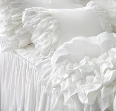 fadfay white lace bedding sets