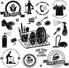 cleaning service design elements stock vector art 481971661 istock cleaning service design elements royalty stock vector art