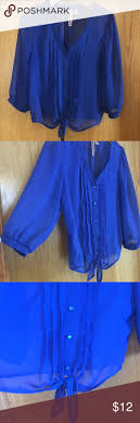 Eyeshadow Blouse. Royal Blue ColorBlue ...