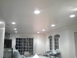 Install Can Lights In Existing Ceiling How To Install Recessed Lights With Attic Access Recessed