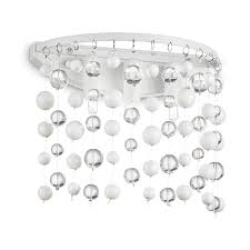 Настенный <b>светильник</b> Ideal Lux Neve AP3 Bianco — купить в ...