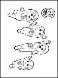 Go Jetters Coloring Pages 1