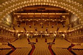 Auditorium Theatre Of Roosevelt University Seating Chart Auditorium Theater Chicago Il Pictures Stage Seating