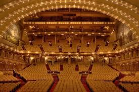 Auditorium Theater Chicago Seating Chart Auditorium Theater Chicago Il Pictures Stage Seating