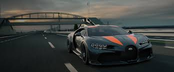 Four wheels, some seats and a tank of petrol. Bugatti Chiron Super Sport 300