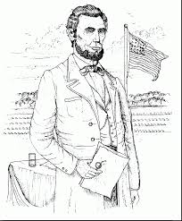 Small Picture astounding abraham lincoln gettysburg address coloring page with