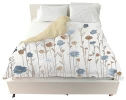 oliver gal beautiful growth light blue duvet cover contemporary duvet covers and duvet sets by the oliver gal artist co