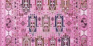 shortlisted for category 4 best transitional design balouch lightpink detail rug