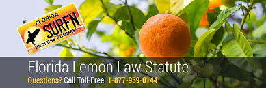 Florida Lemon Law Statute Zero Cost To You