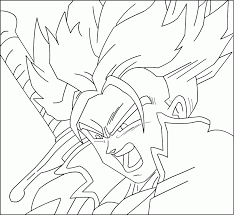 Coloring Pages Of Trunks In Dbz Auto Electrical Wiring Diagram
