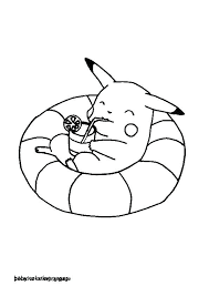 Pikachu Coloring Page Essayscollegeinfo