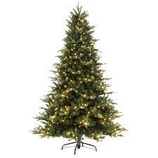 PreLit Christmas Trees  Artificial Christmas Trees  The Home DepotArtificial Blue Spruce Christmas Tree