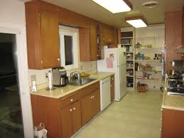 galley kitchen designs cabinets
