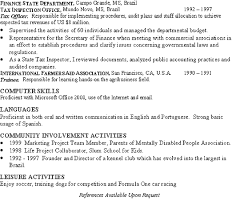 Investment Banker Resume Example