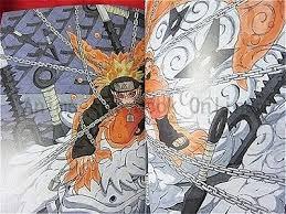 2 of 6 naruto ilration art book masashi kishimoto