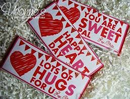 candy bar sayings valentines. Unique Bar Valentineu0027s Day Candy Bar Wrappers  Personalized For Chocolate  Bars Fun Sayings Design And Valentines