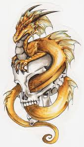 17 Best Dragon Tattoo Sketch In On Pinterest Tattoo Design