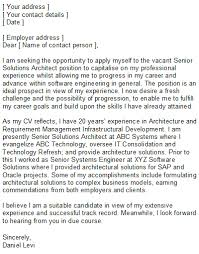 engineering cover letters cover letter software architect forest jovenesambientecas co