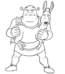 Small Picture Shrek Coloring Pages Coloring Page Coloring Home