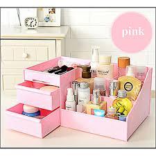 waterproof makeup box drawer type women cosmetic case box big makeup tools make up pen