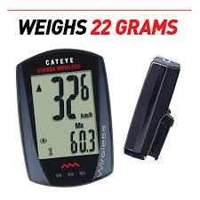 Cateye Strada Wireless Wheel Size Chart Amazon Com Cat Eye Strada Wireless Bike Computer Black