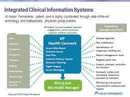 Using Information Technology At Kaiser Permanente To Support