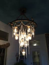 image of inspiration diy rustic chandelier