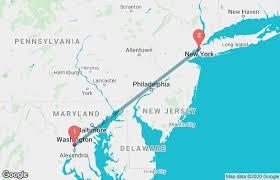 washington dc to new york train