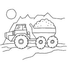 trucks pictures to color. Beautiful Pictures TheHaulDumpTruckcolor For Trucks Pictures To Color N