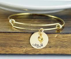 gold bangle bracelet gold mom bracelet mother day gift mothers jewelry mothers bracelet new mom gift gifts for mom mom gift