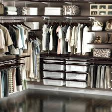 elfa closet design the container to offer luxury closet system design ideas elfa walk in closet design