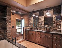 Rustic Bathroom Creating A Rural Rustic Bathroom Style In Your House Wearefound