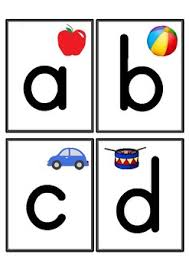 Alphabet Flashcards Lowercase Letters Only