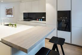 Black Splashback Kitchen White Kitchen Black Splash Back Spekva Breakfast Bar
