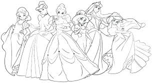 Disney Princess Free Coloring Pages Coloring Pages To Print Princess
