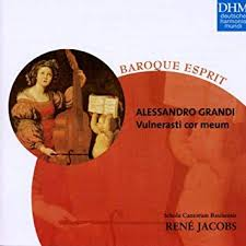 Baroque Esprit - Alessandro Grandi Vulnerasti Cor Meum - Jacobs, Rene,  Grandi, Alessandro: Amazon.de: Musik